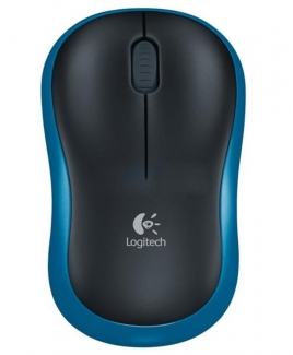 Logitech Wireless Mouse M185 [Blue]